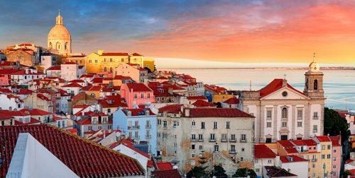 Les toits de Lisbonne.