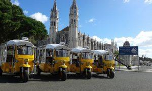 Tuk tuk de Lisbonne
